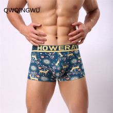 Fashion Underwear Men Boxers Underpants Sexy Print ManS Pants For Cuecas Trunk Shorts Man Masculinas Calzoncillos