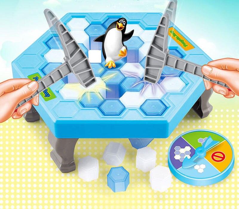 Ледокольной игры Пингвин ловушка активировать Ранние развивающие игрушки Вечерние игры подарки на день рождения настольные игры развлече...