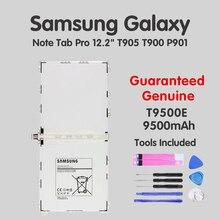 цена на Original Tablets Battery T9500E T9500C For Samsung Galaxy Note 12.2 P900 P901 P905 SM-T900 SM-P900 9500mAh Akku + fast shipping