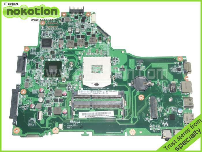 все цены на NOKOTION laptop motherboard for ACER ASPIRE 5749 series MBRR706001 MB.RR706.001 DA0ZRLMB6D0 Mother Boards HM65 GMA HD 3000 DDR3 онлайн
