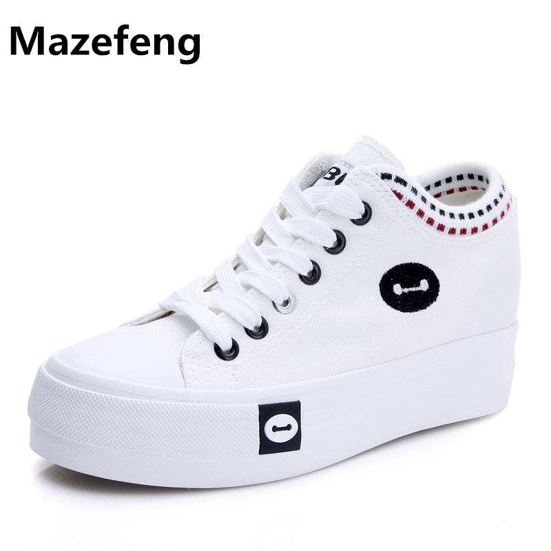 2016 new fashion breathable canvas shoes woman denim student casual shoes cartoon espadrilles mujeres zapatos