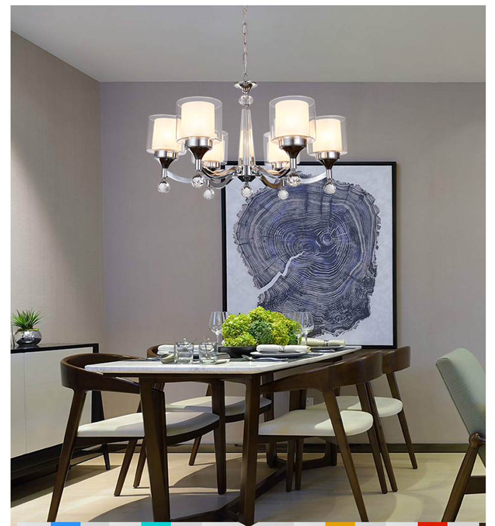 Aliexpress Buy LED Modern Blown Glass Chandeliers Sale Living Room 110 220v Dining Luminaria From Reliable