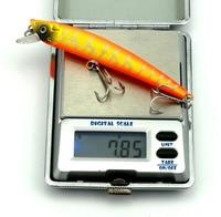 calofe 8 шт./комп. golan Primacy лазер воблер рыбалка Nasty 3д средства ухода для век тонущий примат меню рыбалка приманка 6 # кр 7.3 г/шт. 9.5 см