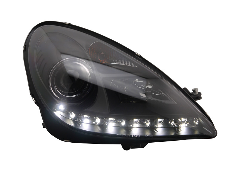 Free shipping for car Head lamp for Mercedes-Benz R171 headlight SLK200 SLK350 SLK250 LED head light 2004-2011 H7 Xenon lamp for mercedes benz slk r171 2004 2011 led car license plate light number frame lamp high quality led lights