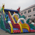 FREE SHIPPING BY SEA High Quality PVC Commercial Inflatable Slide ,Inflatable Bouncy Slide With Air Blower For Kids