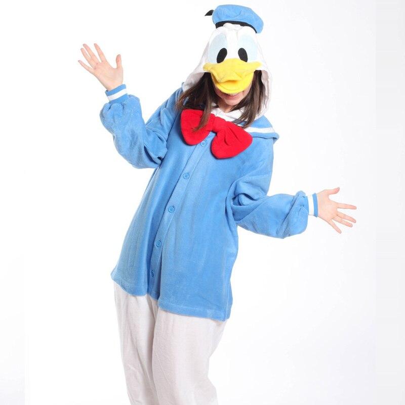 334f8a7f3a62 HKSNG Żółty Niebieski Różowy Donald Daisy Duck Piżamy Kigurumi Onesies  Cosplay Kostiumy w HKSNG Żółty Niebieski Różowy Donald Daisy Duck Piżamy  Kigurumi ...