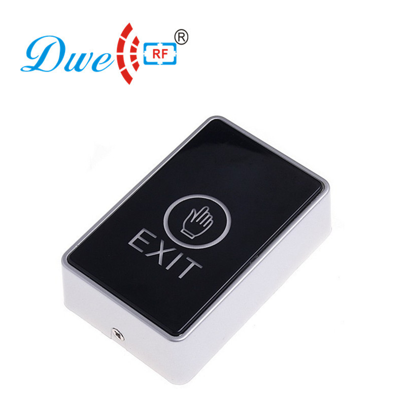 купить DWE CC RF Home security door release luminous touch screen push button for access control онлайн