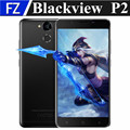 "Blackview p2 5.5 ""MTK6750T FHD octa núcleo Android 6.0 4G LTE smartphone 13MP 4 GB RAM 64 GB ROM dual sim 6000 mah fingerprint OTA"