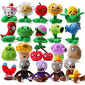 20pcs/set Plants vs zombies Plush Toys, Game Dolls, PVZ 13-20cm High For Kids Toys, Free Shipping