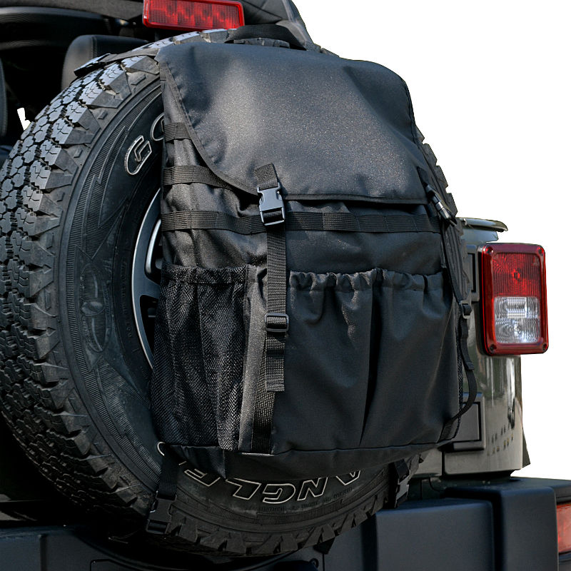 Tool Organizers Trunk Cargo Bags Spare Tire Storage Bag For Jeep Wrangler JK TJ YJ Luggage Multi-Pockets Backpack