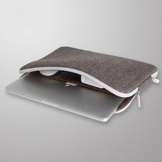 WIWU Top Selling Waterproof Laptop Bag 11 12 13 14 15 15.6 Women Men Notebook Bag Case 14 Laptop Sleeve for MacBook Air 13 Case