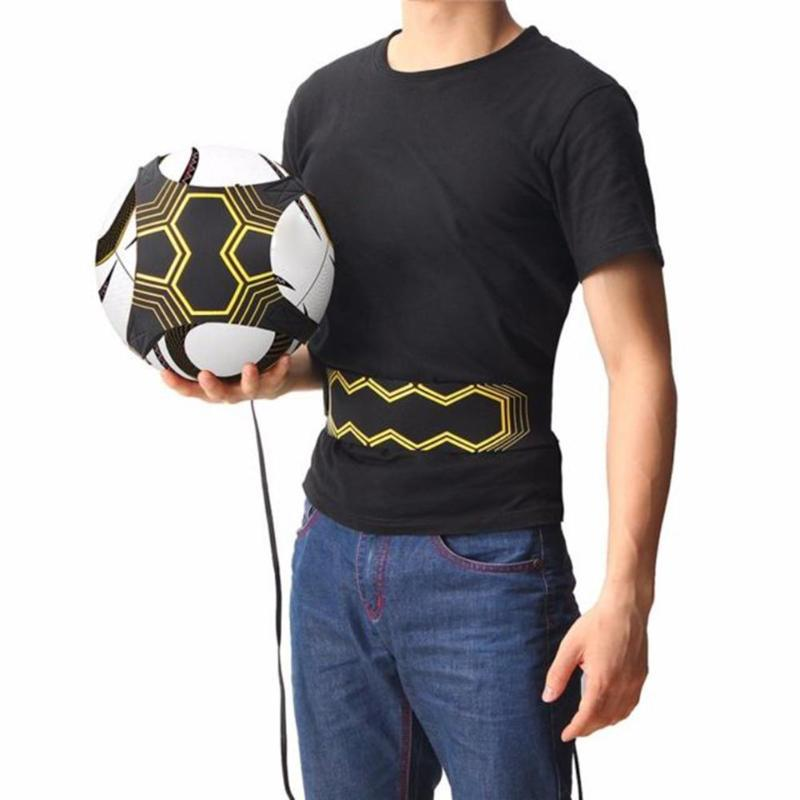 American Football Training Equipment Children Soccer Kick Solo Trainer Belt Adjustable Football Trainer Soccer Ball Practice Ble
