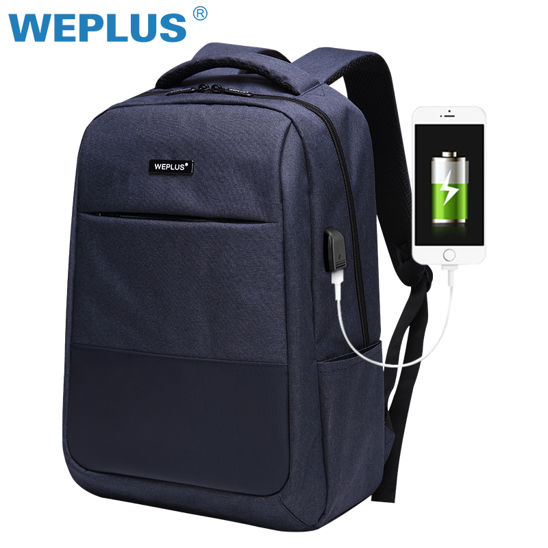 Multifunction computer USB charging 15.6 inch Laptop Backpack men School Bag Large Capacity Casual Style Water Resistant bags