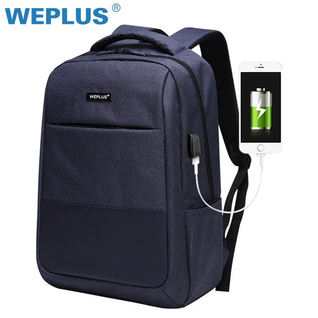 51d93e13b62 Multifunction computer USB charging 15.6 inch Laptop Backpack men School Bag