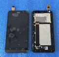 """ЖК-экран + сенсорный Дигитайзер с рамкой Для 5.5 """"Asus ZenFone Go TV TD-LTE ZB551KL X013D черный цвет бесплатная доставка"""