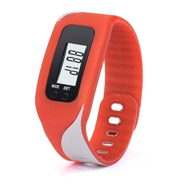 Digital LCD Pedometer Run Step Walking Distance Calorie Counter Watch Women Bracelet Watches Relogio Feminino Relojes Mujer