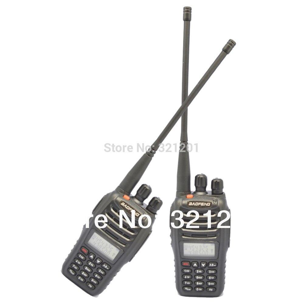 2-PCS New Black BaoFeng UV-B5 Dual Band Two Way Radio 136-174 MHz et 400-470 MHz talkie walkie avec livraison gratuite + écouteur libre