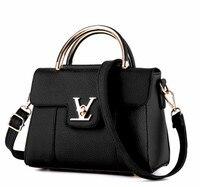 2017 Fashion Women Handbags Good Quality Pu Leather Luxury Handbags Women Bags Designer Shoulder Bag Sac