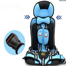 New Child Safety Seat Baby Portable Car Cushion 0-4 Years Old Auto Accessories Baby Increased Seat Hot Sale Cotton Fabric(China)