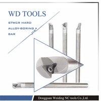 Carboneto sólido C20S STWBR16 ou C20S STUPR16 60 graus internall carboneto ferramenta de tornear bar chato cnc ferramentas de tornear|boring bar|turning tool|cnc boring bar -