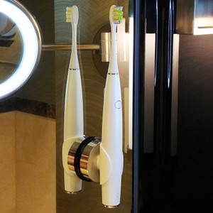 Image 5 - أوكلين واحد الكهربائية مجموعة فرشاة الأسنان مع 4 فرشاة رؤساء 1 الحائط حامل APP التحكم قابلة للشحن فرشاة أسنان المنزل