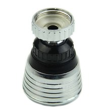 1 PC 360 Degree Water Bubbler Swivel Head Saving Tap Faucet Aerator Connector Diffuser Nozzle Filter Mesh Adapter 1.07 35g