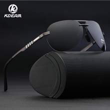 KDEAM Mens Sunglasses Brand Designer Pilot Polarized Male Sun Glasses Eyeglasses gafas oculos de sol masculino KD541