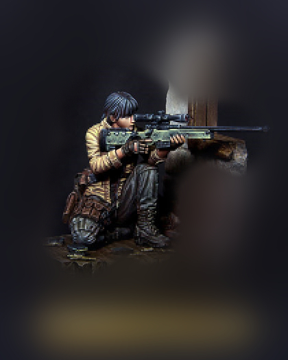 pre order-Resin toys  [T75005] Sharpshooter Kelly Free shippingpre order-Resin toys  [T75005] Sharpshooter Kelly Free shipping