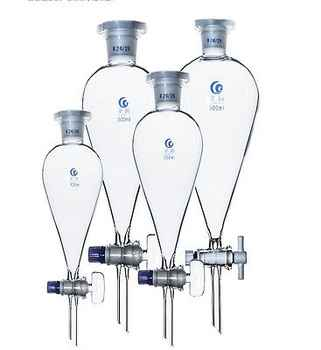 2000ml 29/32 Joint Chemistry Laborotary Glass Pear Shaped Separatory Funnel with PTFE Stopcock - DISCOUNT ITEM  0% OFF All Category
