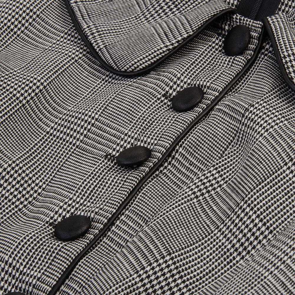 Sisjuly женские весенние осенние зимние воротник Питер Пэн однобортный пояс черные женские серьги-капельки платье офисные женские Рабочие Платья