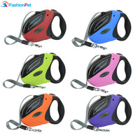 High Quality 50M 50KG Pet Retractable Leash ABS Large Medium Dog Automatic Walking Leash Lead