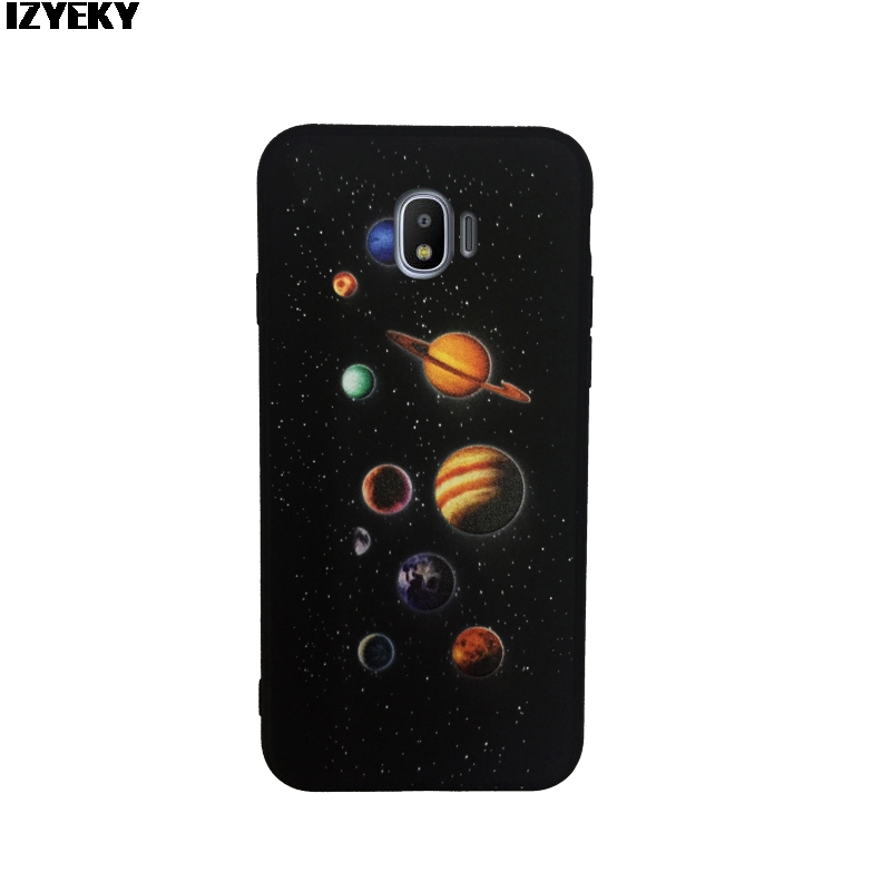 Phone Bags & Cases Lovely Izyeky Case For Samsung Galaxy A9 2018 Case A9s Moon Stars Planet Flower Silicone Coverfor Samsung A9 Pro 2018 Half-wrapped Case