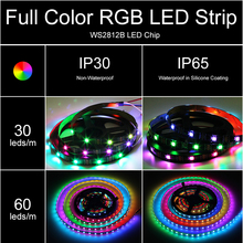 Waterproof Color Changing Smart 30/60 LEDs Strip Light