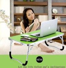 Мода Портативный Складной Стол Ноутбук Складной Стол Для Ноутбука Настольная Подставка Ноутбук Кровать Лоток S31D5