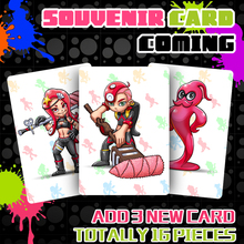 16pcs set Splatoon 2 Full Set NTAG215 Printed NFC Card Written by Tagmo Can Work For