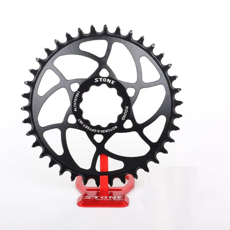 Single Chainring Circle 5mm offset for Rotor Crank 30mm Axle Narrow Wide Direct MountSingle Chainring Circle 5mm offset for Rotor Crank 30mm Axle Narrow Wide Direct Mount