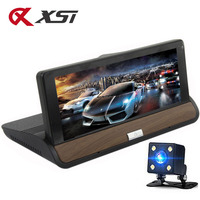 XST 7 IPS 3G Wifi Car DVR Dash Camera Android 5.0 GPS Navigation Video Recorder Bluetooth Dual Lens Dash cam DVR Full HD 1080P