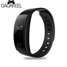 GAGAFEEL Smart Watch for Men Women  QS80 Bluetooth Smart Watches Fitness Heart Rate Monitor Smart Bracelet For Android IOS