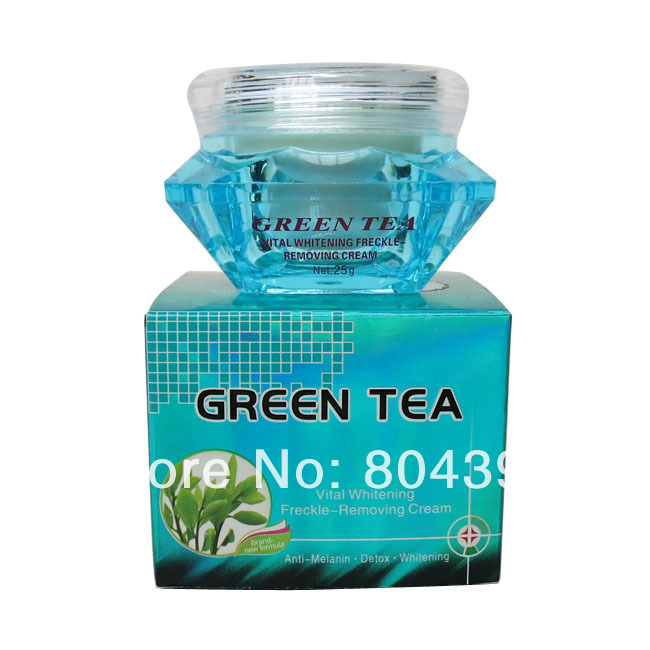 Green Tea whitening cream skin care anti freckle face cream 100% original face care liang bang su professional whitening cream for face anti freckle face cream anti spot