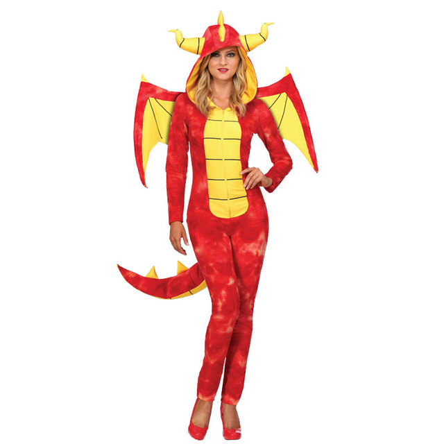 Wonderful IREK Hot Halloween Costume Party Women Dazzling Dragon Knight Cosplay  Costume Stage Performances Clothing