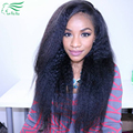 8a Glueless Full Lace Human Hair Wigs With Baby Hair Front Lace Wig For Black Women Kinky Straight Wig Lace Front Human Hair Wig