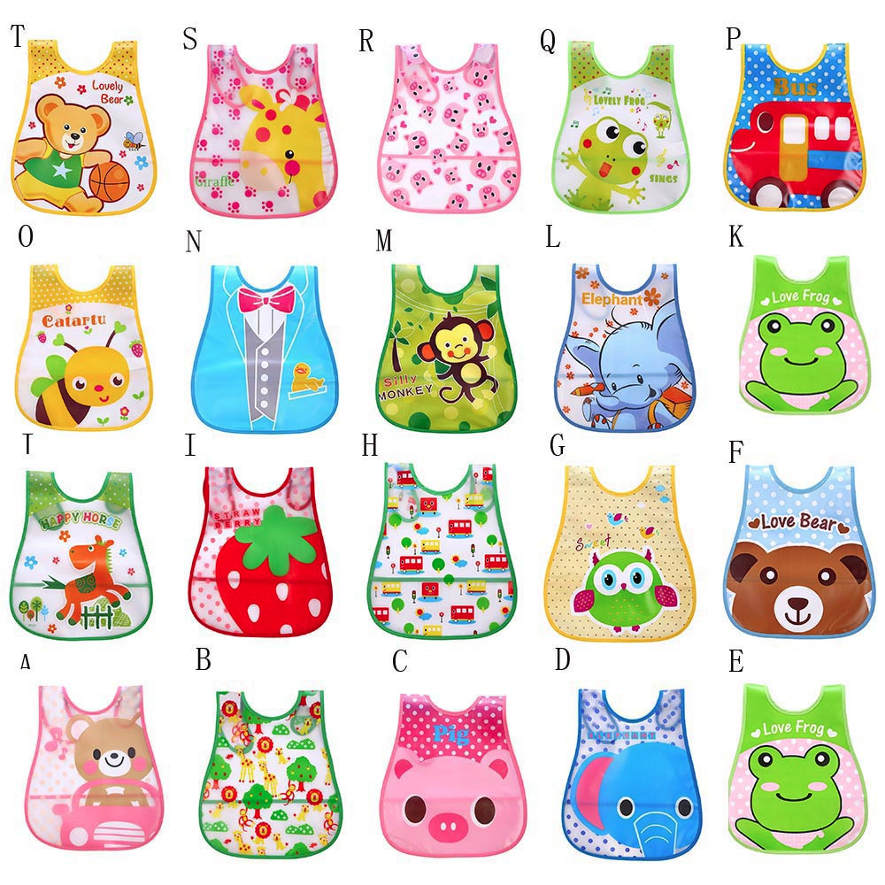 MUQGEW Cute Kid Infant Bibs Baby Soft Cartoon Bib Waterproof Saliva Dripping Bibs Adjustable Baby Meal Bib Baby 1030(China)