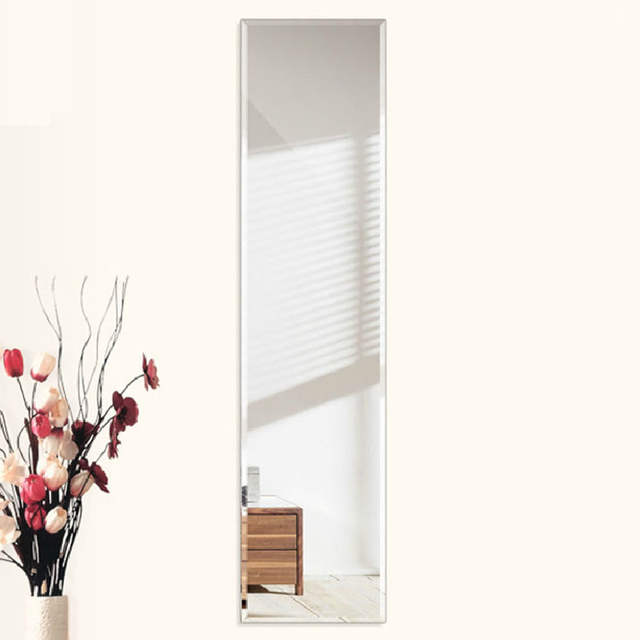 Online Shop Ultra Clear Glass Mirror Square Dressing Wall Mirror Beveled Frameless 360 1500mm Beveled Wall Mirror Aliexpress Mobile