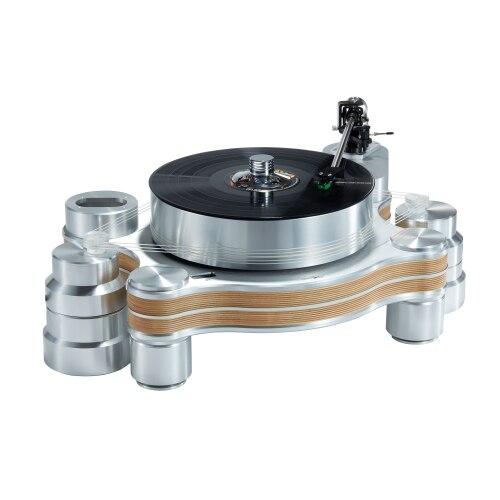Disco de vinilo reproductor LP-32s suspensión magnética conjunto de mesa giratoria con brazo de tono cartucho conjunto de registro de la ciudad