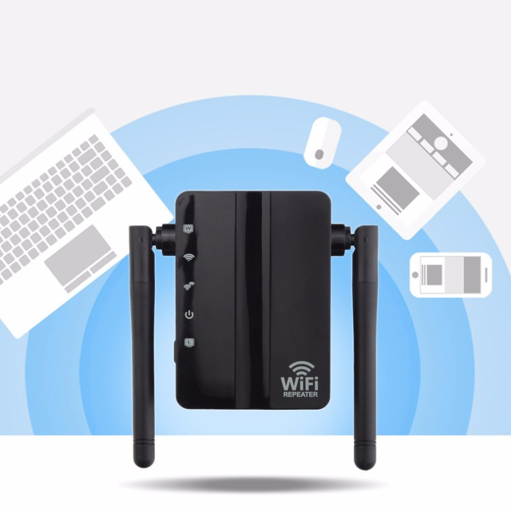 300Mbps Wireless-N Range Extender 2 Port WiFi Repeater Home Travel Wireless Router Signal Booster Extender Signal Amplifier