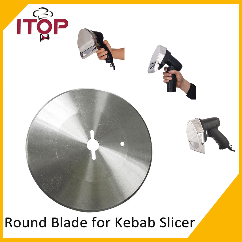 Blade for Kebab Slicer Gyros Knife Shawarma Cutting Machine Round Blade Serrated Blade Toothed knife stainless steel blade knife blade cutting machine cutting head round knife no cutter