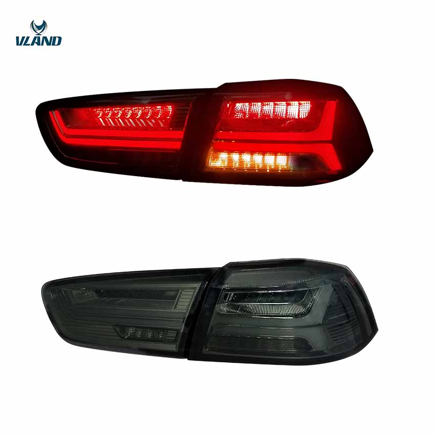VLAND factory for car Tail lamp for Lancer LED Taillight 2008 2009 2010 2012 2015 2016 Lancer EX tail light with moving signalVLAND factory for car Tail lamp for Lancer LED Taillight 2008 2009 2010 2012 2015 2016 Lancer EX tail light with moving signal