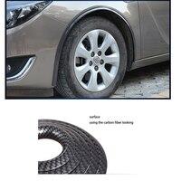 Lsrtw2017 Carbon Fiber Car Wheel Arches Trim For Volvo S40 V70 S70 V70 C70 Xc60 S60