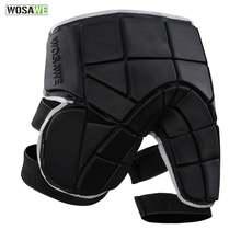Шорты wosawe для скейтбординга спортивные съемные Защитные шорты