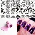 Diy желе штампа скребок + ногтей изображения печать красоты образцов искусства ногтя штамповка плиты польский передачи штамп польский инструменты